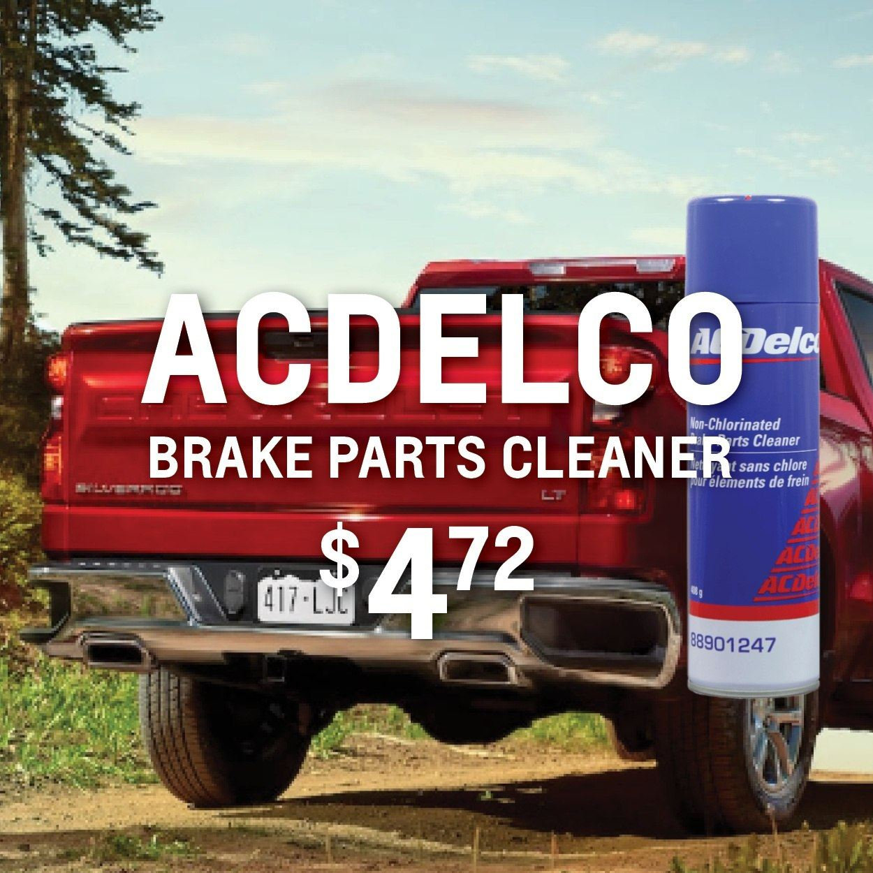 ACDELCO Brake Cleaner